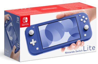 La version bleue de la console Nintendo Switch Lite sortira le 7 mai 2021 en France.