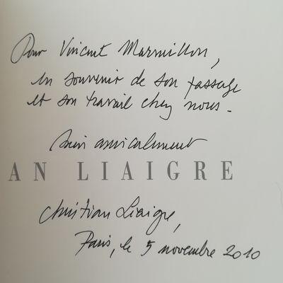 Adieu Christian Liaigre