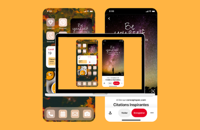 Pinterest : widget pour iOS 14 pour personnaliser sa page d'accueil