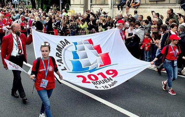Armada 2019 : La Parade des équipages