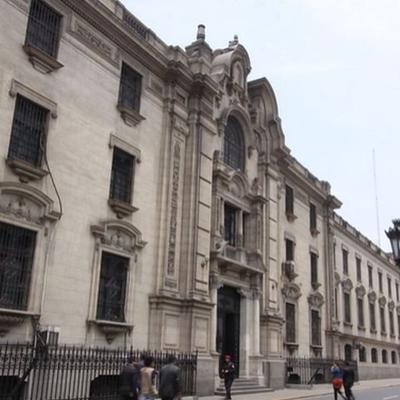 Acuerdo Nacional hoy en Palacio de Gobierno del Perú.