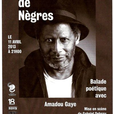 Culture : Paroles de Nègres avec Amadou Gaye