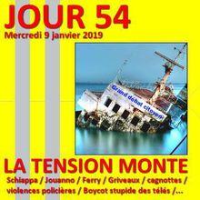 Gilets jaunes - JOUR 54 : La tension monte lourdement avant l'Acte 9