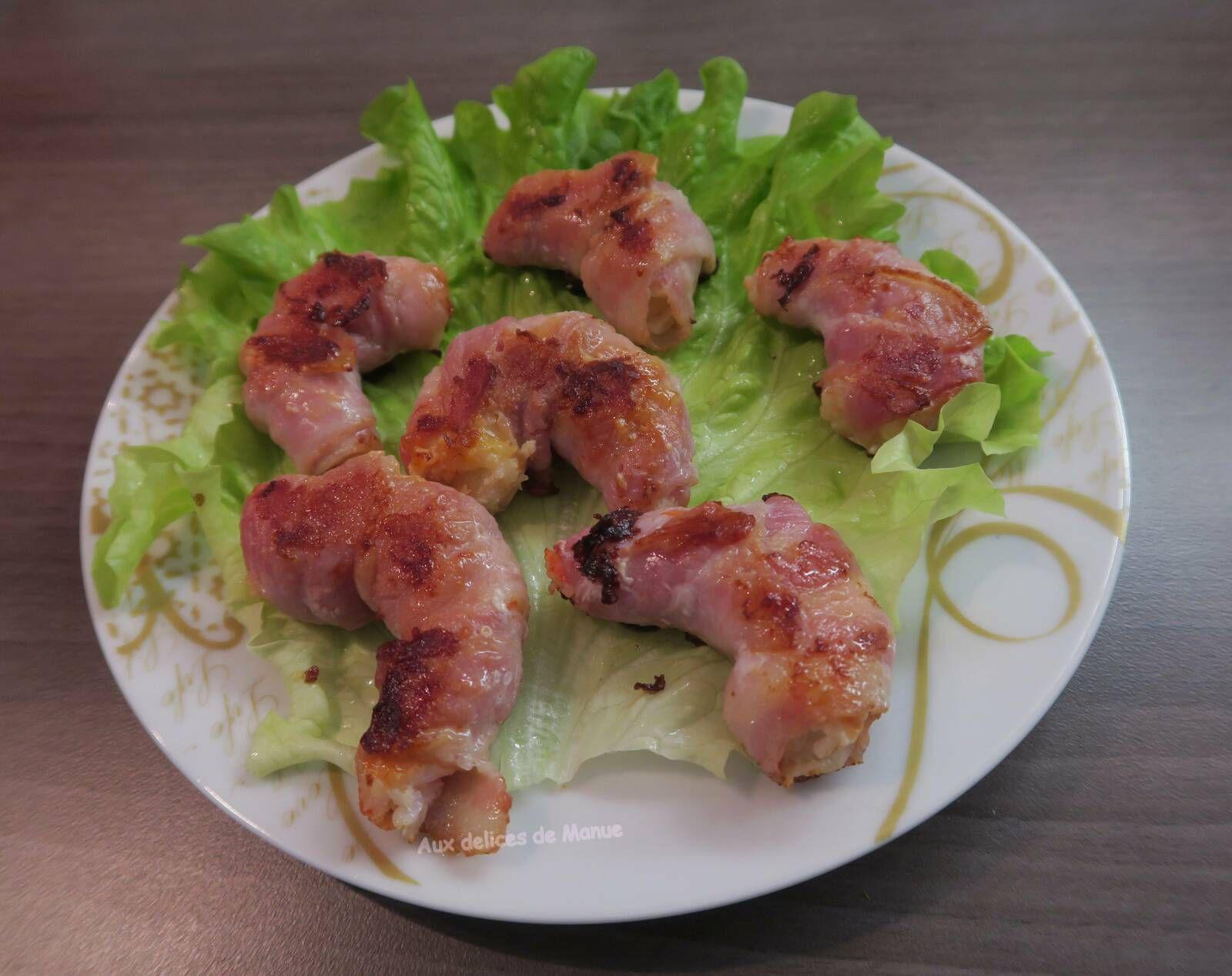 Crevettes enlardées