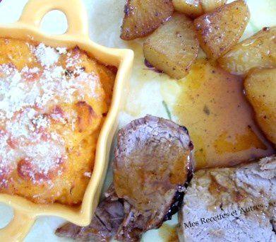 Purée de Patates Douces à la Moutarde