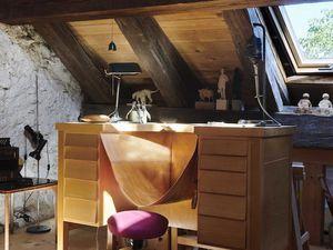 Une maison du 15ème sur les bord du lac de Bienne