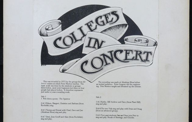 Colleges in Concert - Colleges in Concert (1975)