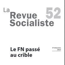 Le FN passé au crible (La revue socialiste)
