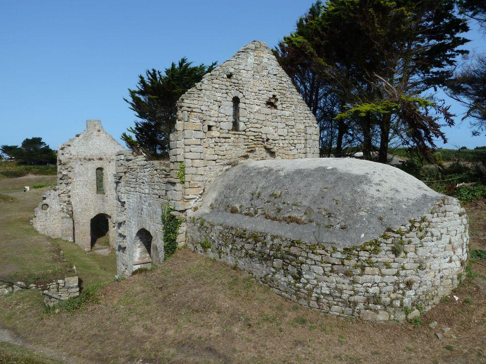 La chapelle Sainte-Anne sur l'île de Batz