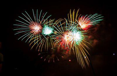 Jahrtausendwende - ein Feuerwerk
