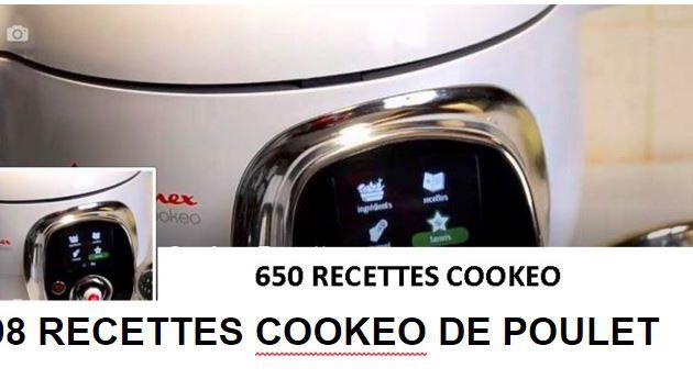 PDF gratuit : 98 recettes cookeo de poulet