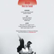 Cours d'Aïkido à Paris avec Léo Tamaki