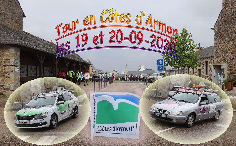 Montage réalisé par Gilles Grippon, club de Saint-Cast-le-Guildo.