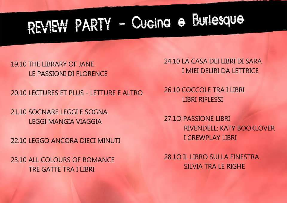Review Party : Cucina e burlesque