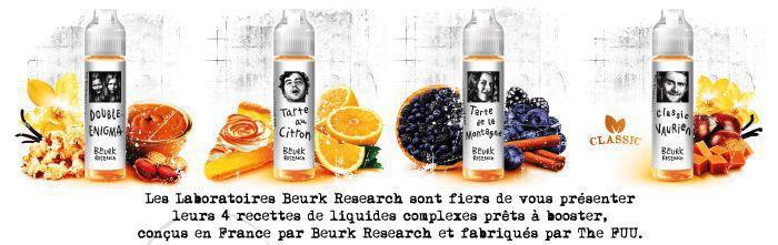 Test - Eliquide - Tarte de la Montagne de chez Beurk Research