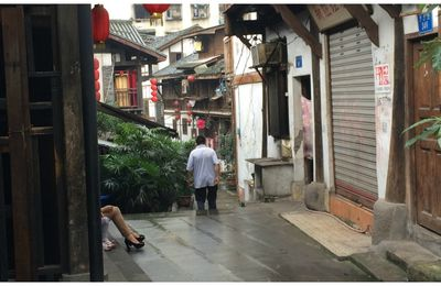 The Eighteen Stairs & The third Footpath - Chongqing