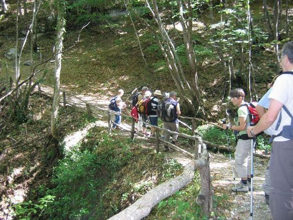Randonnée dans les Abruzzes, octobre 2007.