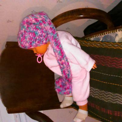 Un nouveau bonnet de lutin multicolore