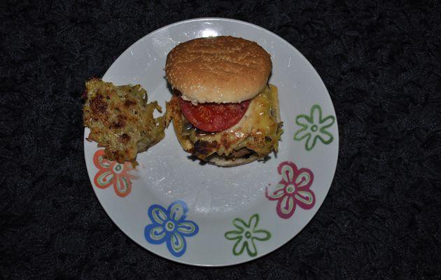 Hamburger complet à ma façon