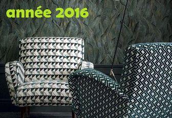 Meilleurs Voeux 2016 ARABEQUE Tapissier Décorateur Thiers