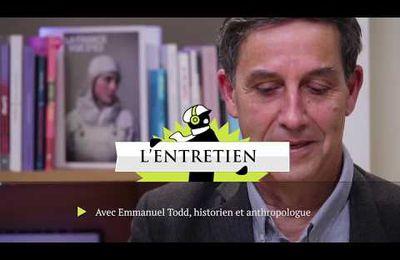 [Vidéo] Emmanuel Todd : les mutations de l'Occident