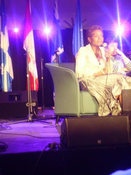GENERALNA GUVERNERKA KANADY, Michaëlle JEAN, 13. august 2008, Québec