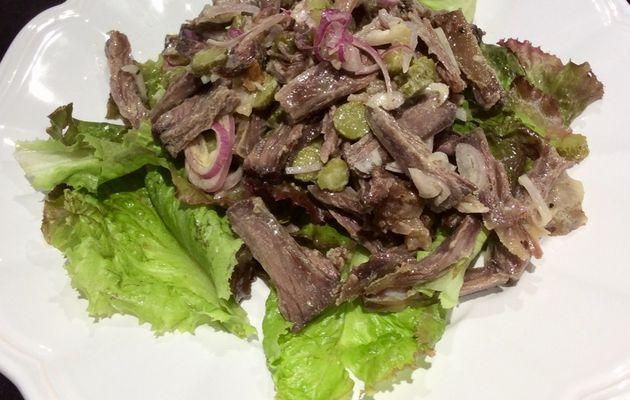 Salade de queue de bœuf