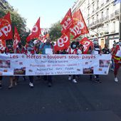 Manifs unitaires hier dans toute la France