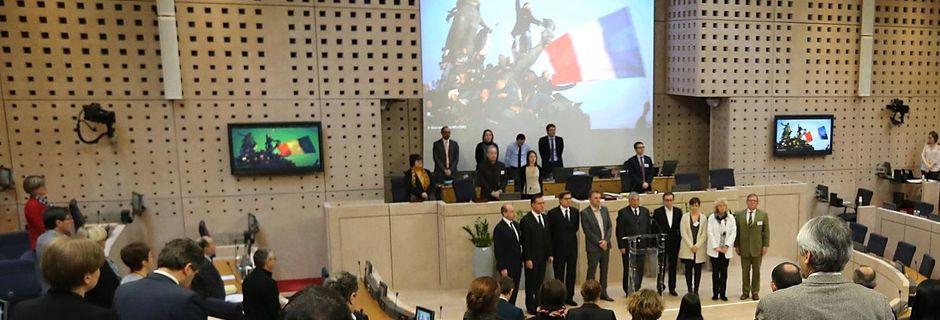 """""""Mobilisation régionale pour la laïcité et le vivre-ensemble"""" déclaration élus CR Pays de la Loire (05/02/2015)"""