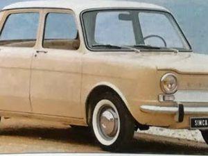 sous différents angles, les resemblances stylistiques de la Simca 1000 et de La Renault 8 sorties à quelques mois d'écart...