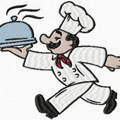 broderie pour tablier de cuisine
