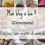 Mon blog a 1 an !! {concours inside}