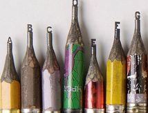 Des crayons bien taillés...