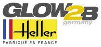 GLOW2B distributeur européen, et maison mère de HELLER