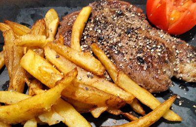 Entrecôte-frites maison