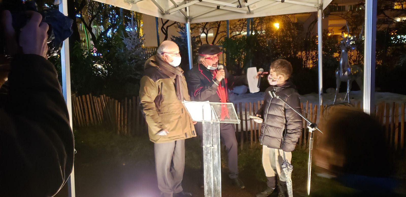 Noël : Lumière sur la ville avec l'inauguration des illuminations à Colombes