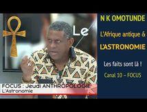 Canal 10 - NK Omotunde eurocentrisme et astronomie