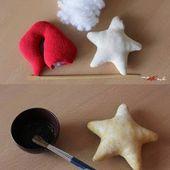 DIY Beautiful Star Christmas Ornament