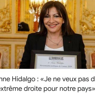 «Mme Anne HIDALGO, personnalité de l'année : une candidature vivement souhaitable pour les présidentielles de 2022» par Amadou Bal BA - http://baamadou.over-blog.fr/