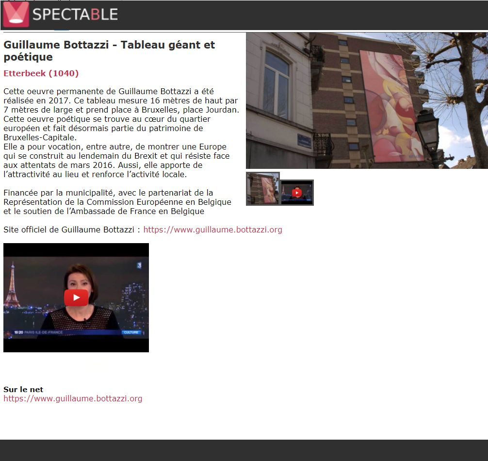 Spectacle.be