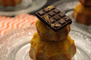 Religieuse chocolat citron