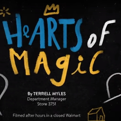 Hearts of Magic : La pandémie rend Walmart lyrique et pleine d'espoirs en mettant en vidéo le poème d'un associé.