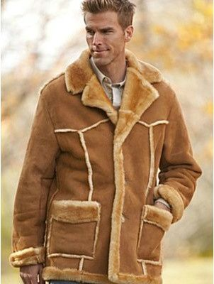 Shearling Sheepskin Coat Winter Jacket