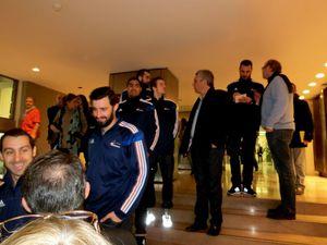 L'équipe de France s'arrête au Conseil Général !!!