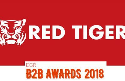 Red Tiger Gaming se distingue aux EGR B2B Awards 2018