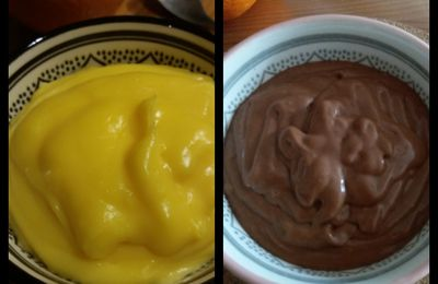 Orange curd et Orange curd chocolat