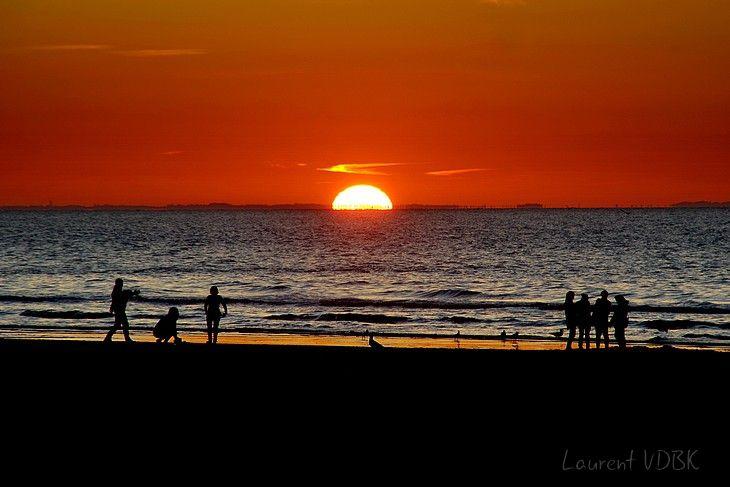 1806 - Le soleil se couche à Deauville