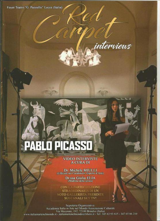 Présentation Prix International d'Art 2018 Hommage à Pablo PICASSO
