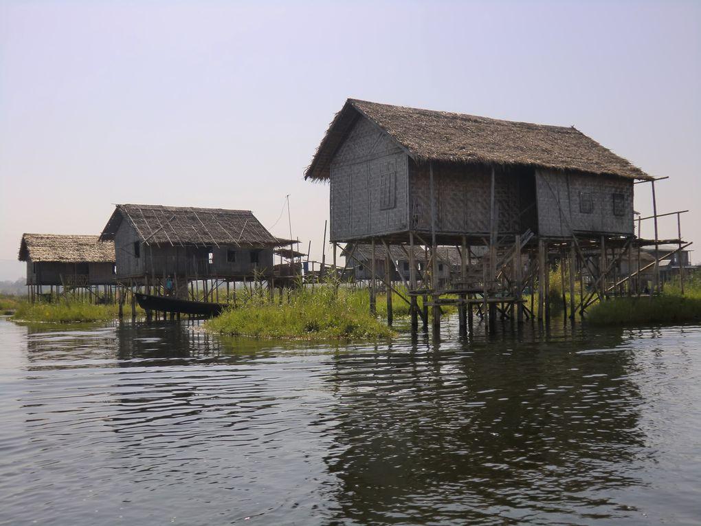 Pagodes d'In Dein-Pindaya-Lac Inlé