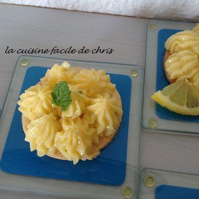 tarte fine au citron vert façon mojito